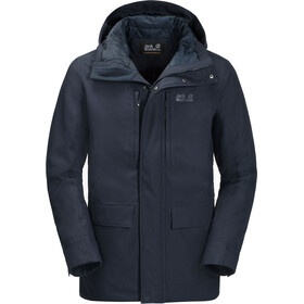 Jack Wolfskin West Coast Jas Heren, night blue